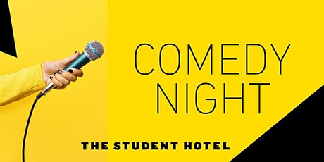 The Student Hotel Rotterdam Open Mic Comedy Night tickets