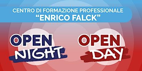 """Open Night/Day 2021/22: Centro di Formazione Professionale CNOS-FAP """"Falck"""" biglietti"""
