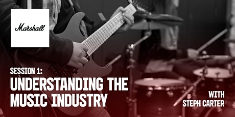 Marshall Industry Sessions - Understanding the Music Industry tickets