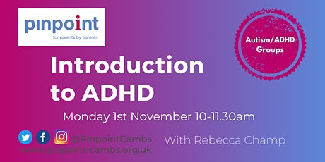 Introduction to ADHD tickets