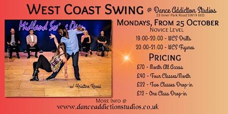 WCS Dance class tickets