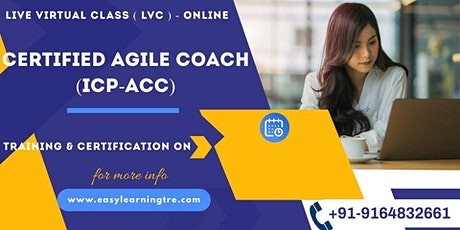 Certified Agile Coach (ICP-ACC) Training Certification Online Tickets