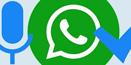Workshop WhatsApp 8 december 2021 tickets