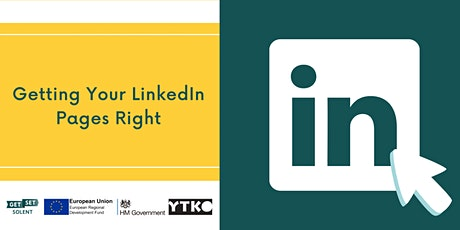 Getting Your LinkedIn Pages Right tickets