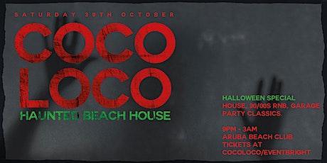CocoLoco Halloween at Aruba Saturday 30th October tickets