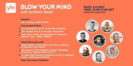 Blow Your Mind with Synthetic Media Tickets