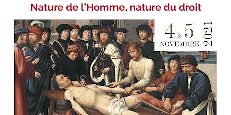 Rencontres de Thémis et Sophia (2e éd.): Nature humaine, nature du droit billets