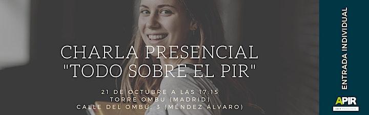 Imagen de Charla presencial PIR MADRID