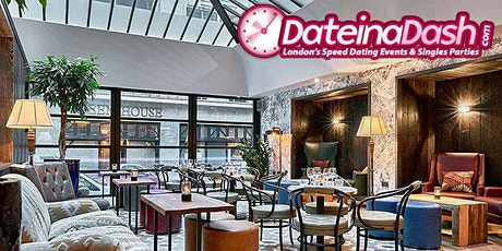 Speed Dating in Soho @ 100 Wardour Street (Ages 24-36) tickets