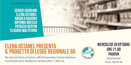 Padova - Per limitare l'apertura delle medie strutture di vendita biglietti