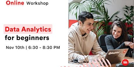 [Free Workshop] Data Analytics for beginners tickets