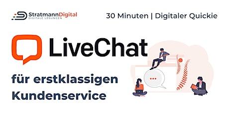 Zufriedene Kunden & mehr Umsatz dank LiveChat | Di Tickets