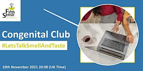 Fifth Sense - #LetsTalkSmellAndTaste - Congenital Club tickets