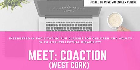 Meet CoAction (virtual volunteer roles) tickets