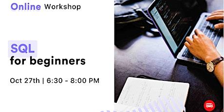[Workshop] SQL for Beginners billets
