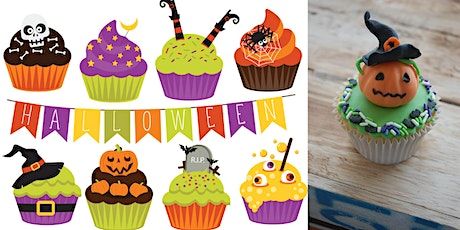 """Chocolate Halloween Cupcake Demo by """"Devoted to Bakes"""" tickets"""