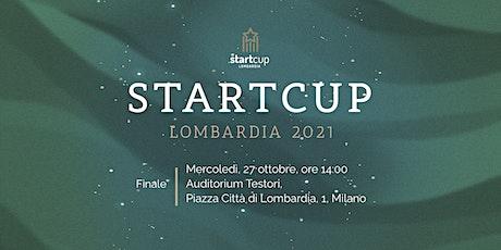 Startcup Lombardia 2021 - La finale biglietti