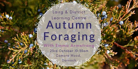 Autumn Foraging with Emma Armstrong - Dornoch tickets