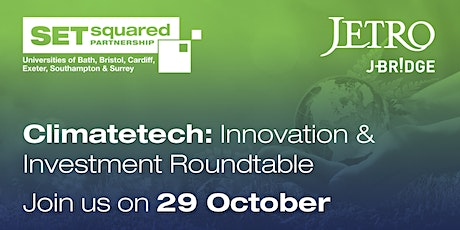 Climatetech Innovation & Investment Roundtable tickets