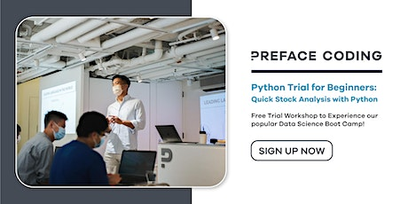 Quick Stock Analysis with Python | Free Python Trial | Central tickets