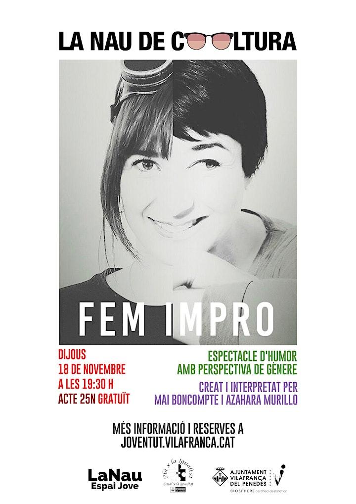 Imagen de La Nau de Cooltura -  Fem Impro! Acte 25N