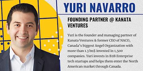 EUVC Founder Community Talk with Yuri Navarro, from Kanata Ventures tickets