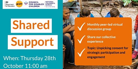 Making Participation Work's Shared Support - October tickets