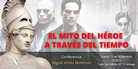 Conferencia: El mito del Héroe a través del tiempo tickets