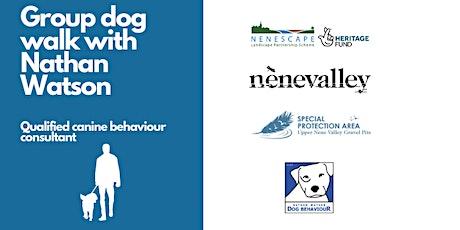 Group dog walk with Nathan Watson @ Northampton Washlands tickets