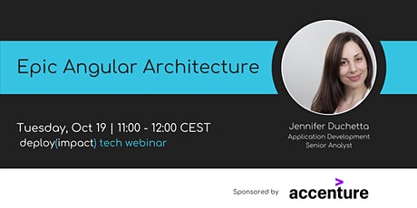 Epic Angular Architecture  | Webinar by women++ tickets
