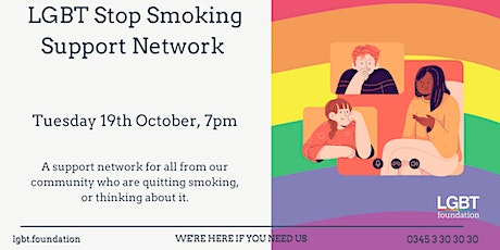 LGBT Stop Smoking Support Network tickets