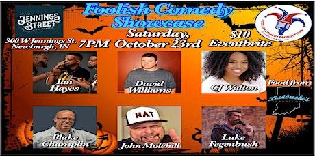 Foolish Comedy Showcase (October 23rd) tickets