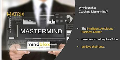 WEBINAR_Mindblox Mastermind Matrix Membership tickets