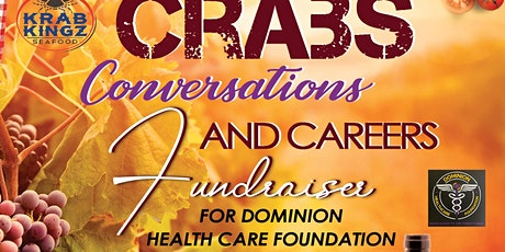 CRABS, CONVERSATIONS ,AND CAREERS tickets