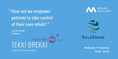 """""""How can we empower patients to take control of their own rehab?"""" tickets"""