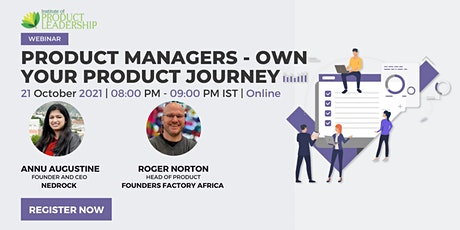 Product Managers - Own Your Product Journey tickets