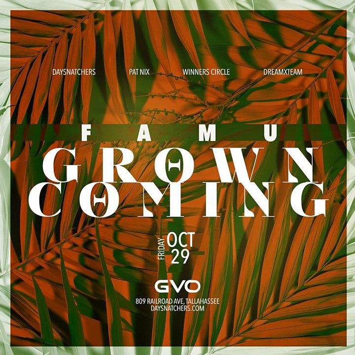 FOREVER FRIDAY'S: GROWN COMING image