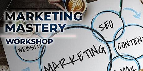 Marketing Mastery Workshop entradas