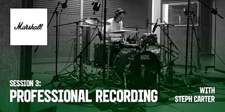 Marshall Industry Sessions - Professional Recording tickets