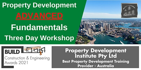 Property Development Advanced Fundamentals tickets