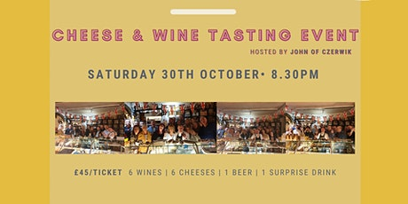 Cheese & Wine Tasting Event tickets