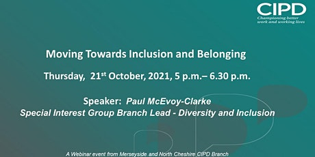 Moving Towards Inclusion & Belonging tickets