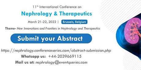 11th International Conference on Nephrology & Therapeutics tickets