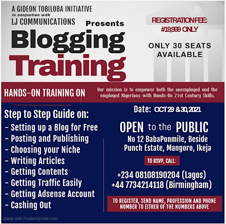 Blogging Training image