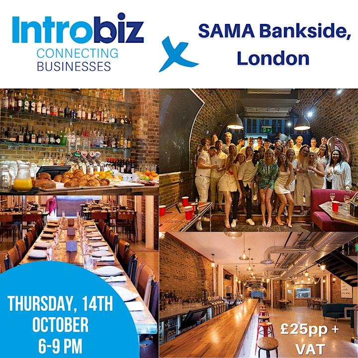 Introbiz x SAMA Bankside London Networking Event image
