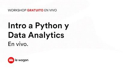 Workshop Gratuito | Introducción a Python y Data Analytics tickets