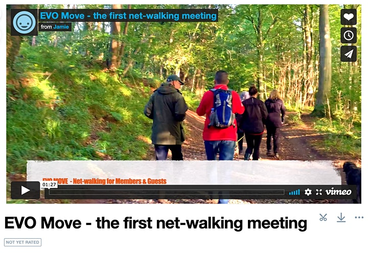 EVO MOVE  - Our 1st South West net-walking meeting (for Members + Guests) image