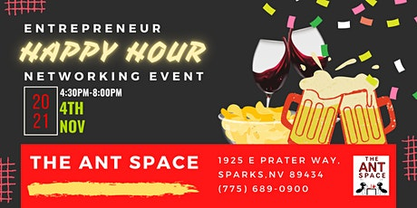 Remote Workers Happy Hour Networking Event tickets