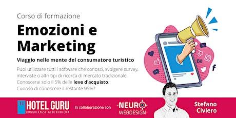Emozioni e Marketing: viaggio nelle mente del consumatore turistico biglietti