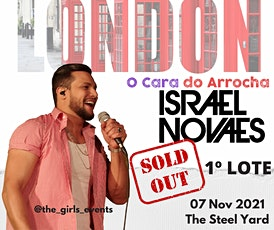 Show Israel Novaes em Londres ingressos